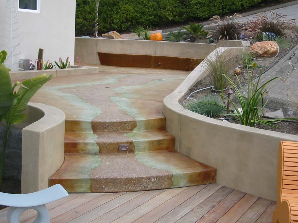 decorative concrete patios bay area concrete contractors concrete contractors tom ralston. Black Bedroom Furniture Sets. Home Design Ideas