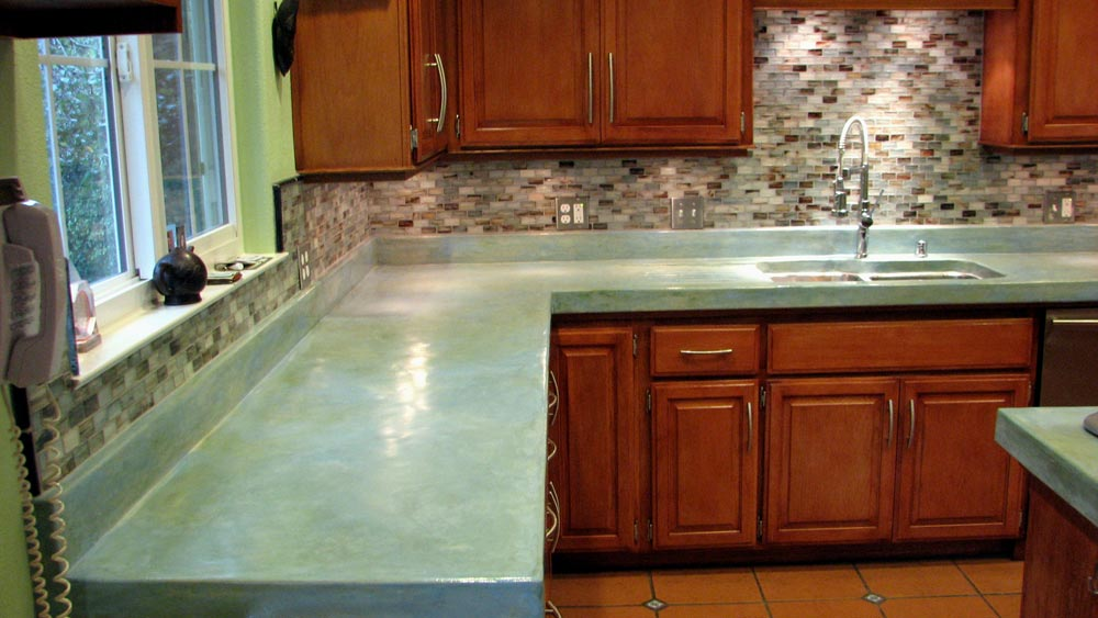Concrete Countertops Concrete Overlays Skim Coat